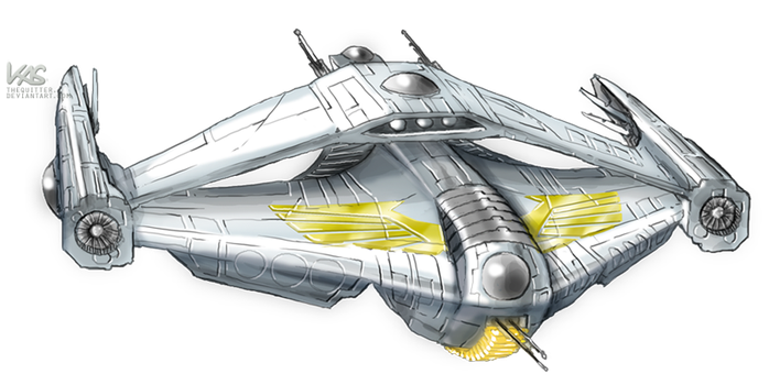 NOVA: Imperial Icarus-Class Heavy Fighter by TheQuitter