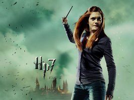 Ginny Deathly Hallows Wallpaper by smashingdaisies