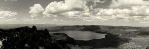 Paulina Peak Overlook Panoramic by xsiorcanna