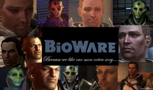 More Sexy BioWare Men by ShadowcatPrime