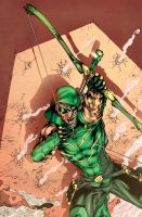 Green Arrow by Fatboy73