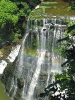 Rainbow at Burgess Falls by envanatta42