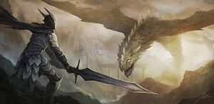 Dragon Knight by jsek