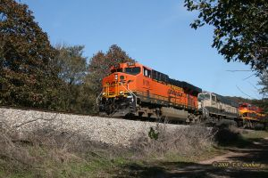 BNSF 6101 at Watts OK by labrat-78