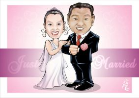 just married by jotapehq