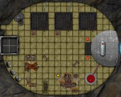 Numenera-Lhauric-Sacrifice-Chamber-16x20 by Cosmic-Cartographer