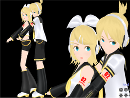 z7def Kagamine Rin and Len by RinLenFan