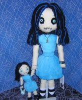 Blue Rag Dolls by Zosomoto