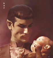 Sarek and Son by karracaz