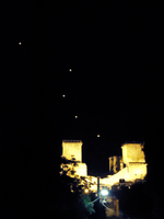 lanterns and a castle. by keira-n