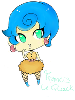 Francis LeQuack Colored by Izu-kun