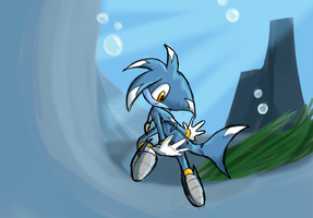 A Whiff of Fish by glitchgoat