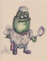 Frog Chef by AsherBuckley