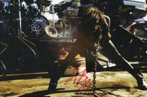 Autograph from Andy Biersack by kittykatc666