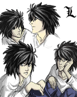 L Sketches by Clairictures