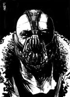 Bane tdkr by EdwardDelandreArt
