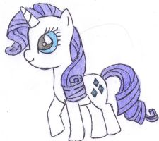 Rarity by FinnishGirl97