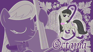A singular vibrato - Octavia Wallpaper by cradet