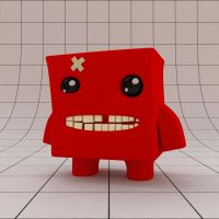 Super Meat Boy by Benderxable