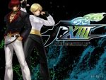 Iori Yagami and King The King of Fighters XIII by Grichu-Ada-Kinney
