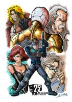Metal Gear Solid by JFRteam