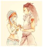 Fairy Tail: Gazille and Levi by Rocktuete