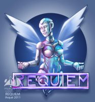 Requiem Robot Girl by Arqueart