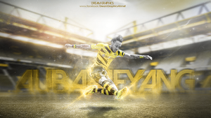 Auba Wallpaper Work by dreamgraphicss
