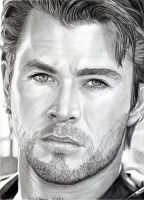 Chris Hemsworth 7-2015 by khinson