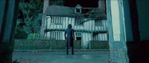 Snape at Potters' house by LitMiir1