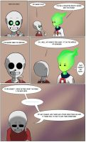 Undertale Green Page 11 by FlamingReaperComic