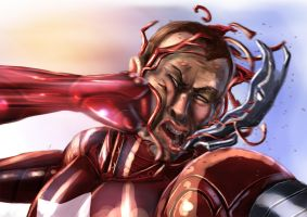 iron man vs iron patriot by alecyl