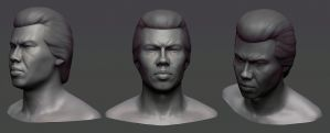 Bolo Yeung by ivilai