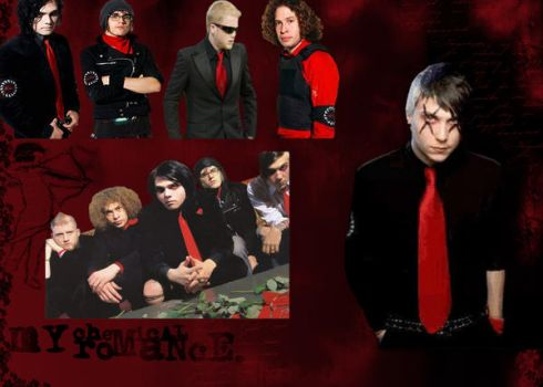My Chemical Romance Wallpaper by minihexy