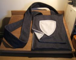 Dark Grey Bag - FOR SALE by Thaly