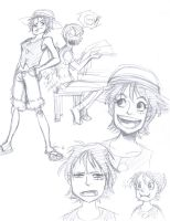 OP: Luffyko Sketches by persephohi