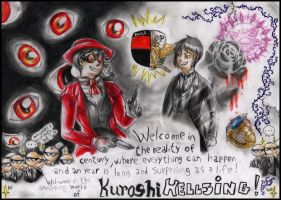 1. Introduction (Kuroshihellsing) by FuriarossaAndMimma
