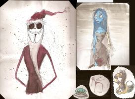 stuff from Tim Burton project by DannyPhantomFreek