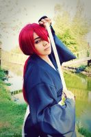 Kenshin Cosplay by NayeliCoss