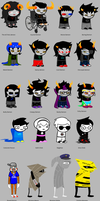 Homestuck According to Stephanie and Destiny by abbeydeath