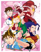 Street Fighter IV Ladies by jeftoon01