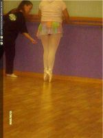 me in private ballet class by ninjalove134