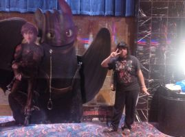 me and how train your dragon 2 by bigbob101