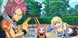 The Dragneel Family by DarkMousyxKagome