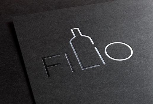 FILIO Wine logotype by romankac