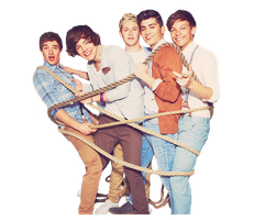 One Direction PNG by FitrieCOMATE
