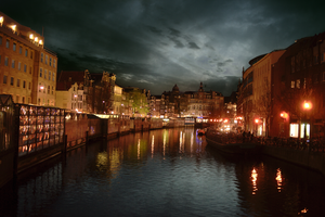 Amsterdam Night by binarymind
