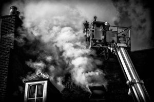 Firemen above Roof 3 by keithajb