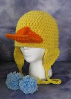 Rubber Ducky Hat by DarkwingFrog