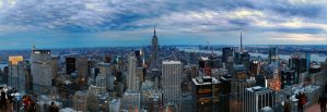 Unititled New York Panorama by Guy-with-the-guitar